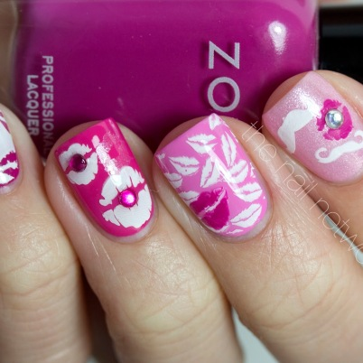 Manicure mania fashion candy kisses to your valentine prinsesfo Images