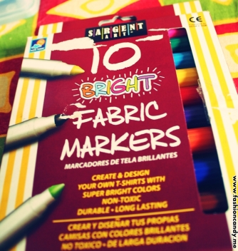 fabric markers for diy projects